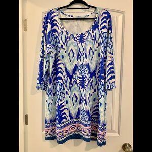 Lilly Pulitzer XL 3/4 Sleeve Dress